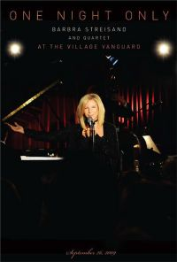 Cover Barbra Streisand And Quartet - One Night Only - Live At The Village Vanguard [DVD]